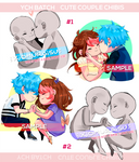 YCH - Cute couple Chibis (Temporary Closed)