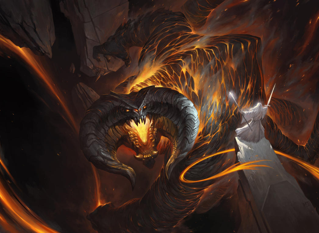 1603_Gandalf vs Balrog by alswns3421