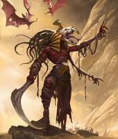 1609 Diablo2 fanart Greater Mummy by alswns3421