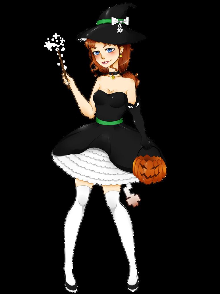 Pixel Witch by Shyoia