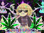 happy weed day by ObliviousPyromaniac