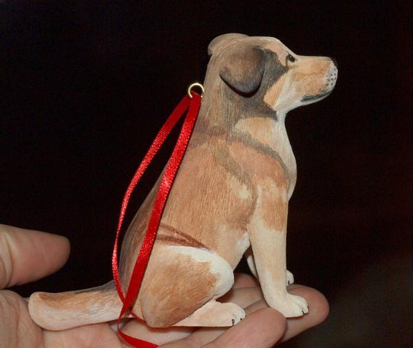 Dog Carving by greencheek