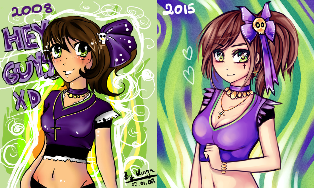 2008 vs 2015 by Rayuki