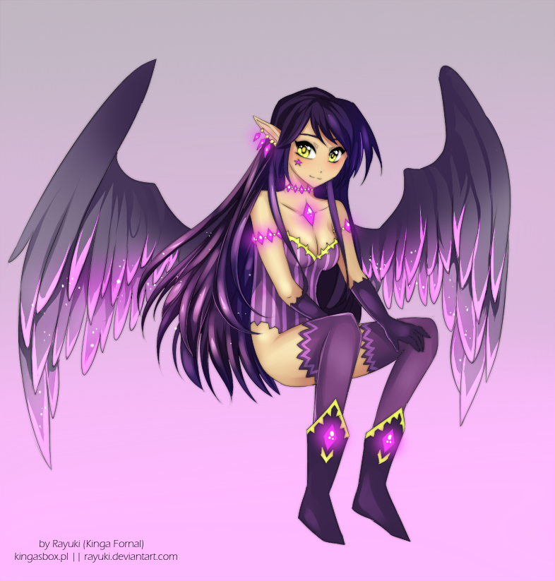 Night Angel by Rayuki