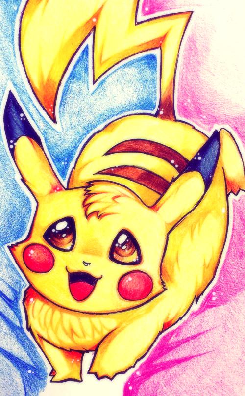 Pikachu by Rayuki
