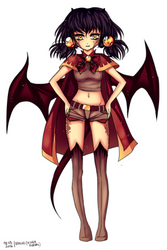 Nica the dragon girl