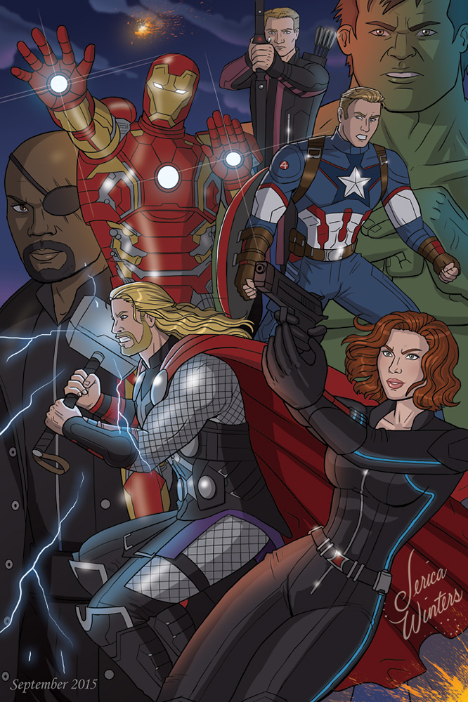 The Avengers by JericaWinters