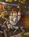 Red Sonja by JericaWinters