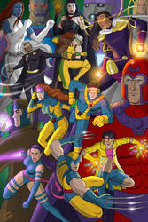 X-men 1990s Tribute by JericaWinters