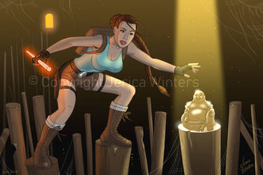 Lara Croft and the Lucky Buddha by JericaWinters