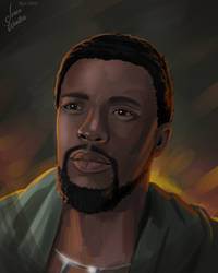 T'Challa The Black Panther by JericaWinters