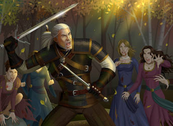 Geralt is on the Menu by JericaWinters
