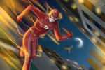 The Flash by JericaWinters