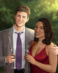 Barry and Iris by JericaWinters
