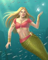 A Tropical Mermaid
