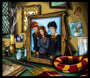 Harry's night stand by Artist-in-Despair