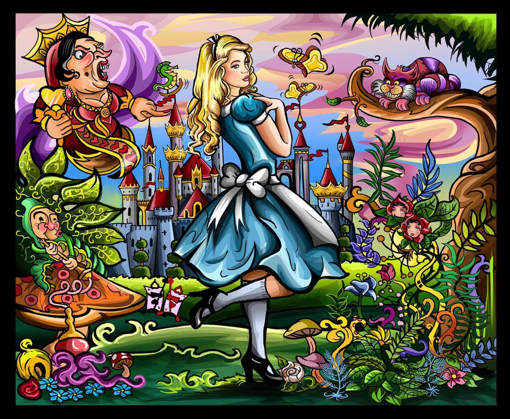 Alice in Wonderland by Artist-in-Despair