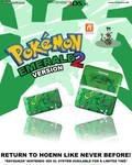 Pokemon Emerald 2 Limited Edition Nintendo 3DS XL