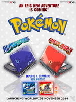 Omega Ruby and Alpha Sapphire Special Edition 3DS.