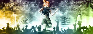 Lindsey Stirling Fan Group Tour 2015 by cmdrsamu