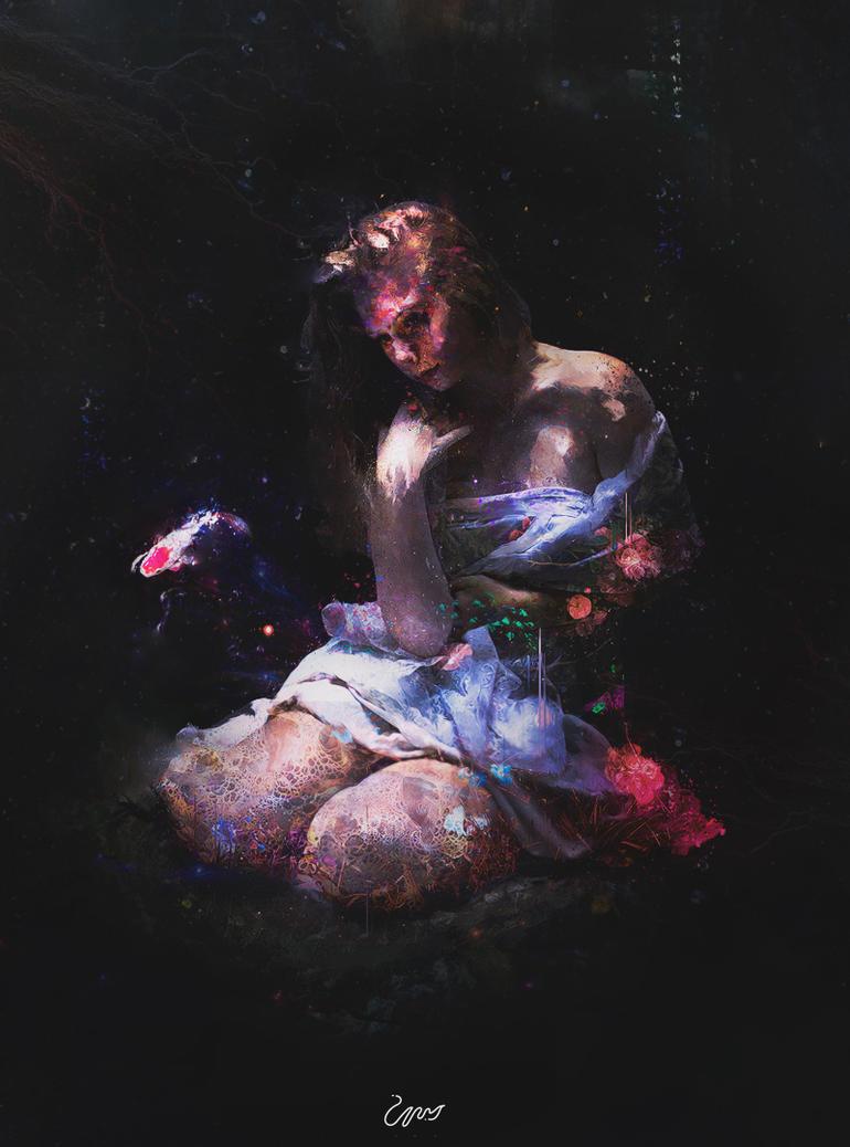 illness beauty by ANWARIKA-GFX