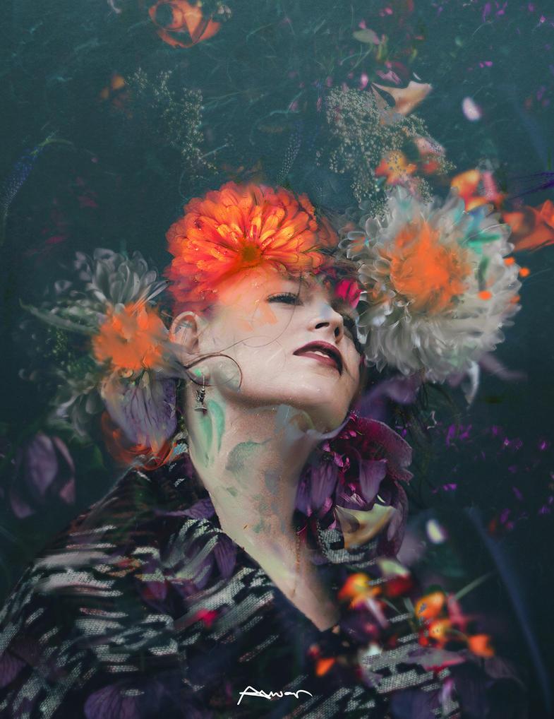 efflorescence sadness by ANWARIKA-GFX