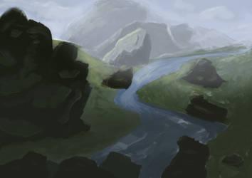 Rock Sketch Practice by Earl---Grey