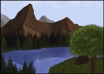 Lake Reisa by Earl---Grey