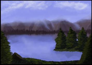 Lake Lysa by Earl---Grey