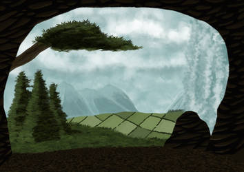 Cave View by Earl---Grey