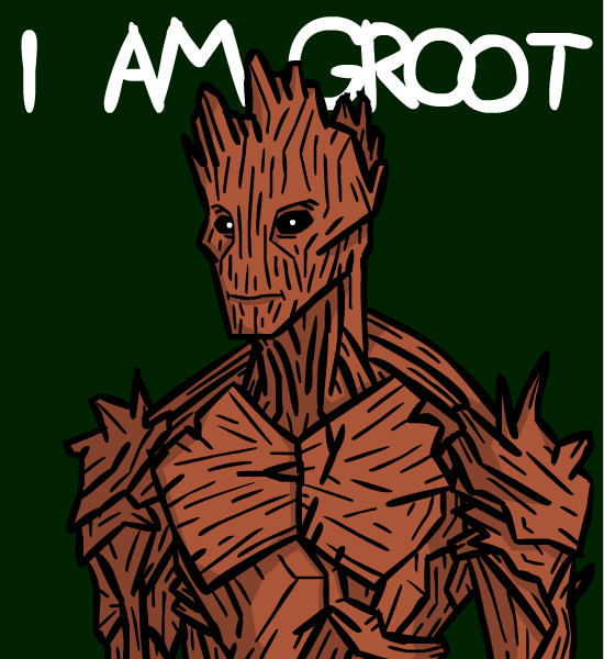 I Am Groot I am Groot by GabPlaza