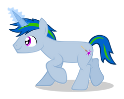 Xenon Terapon is a pony now