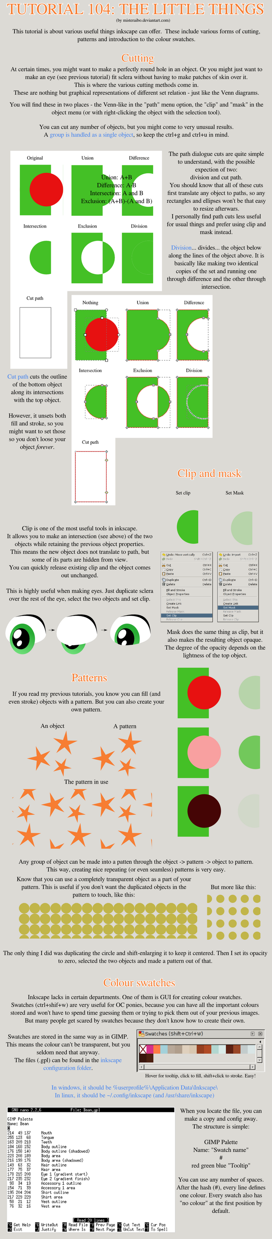 Tutorial 104: The Little Things by MisterAibo
