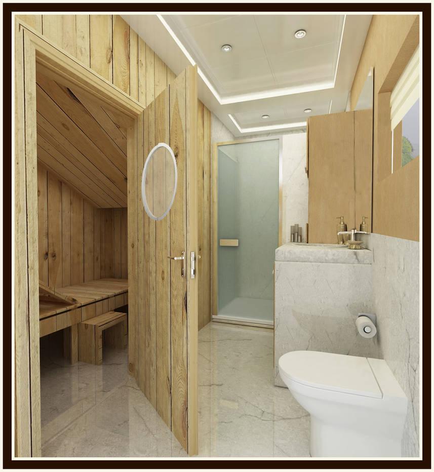 Yacht 02 gym bathroom by sieliss on deviantart