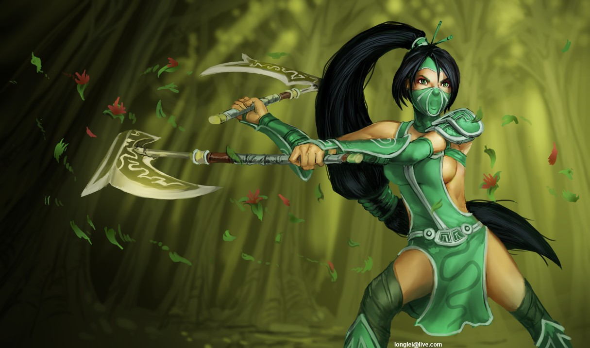 Jade Pelon Akali__the_fist_of_shadow_by_longlei-d5j0toa