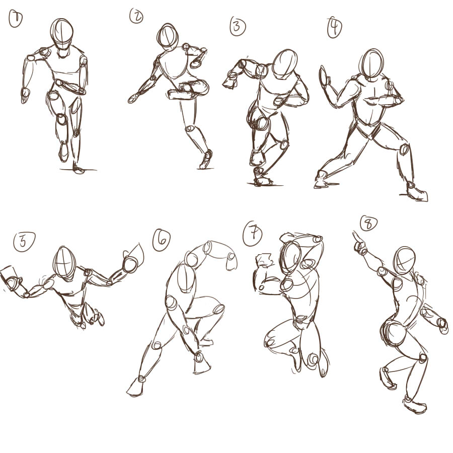 character poses by doragonryu on deviantart