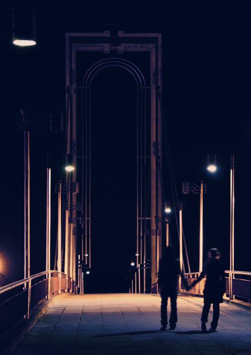 .late night walk. by Rijama on DeviantArt