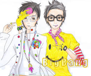 T.O.P and G-Dragon Lollipop 2 by konantype0