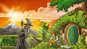 The Hobbit: An Unexpected Journey - Fanart by FinsGraphics