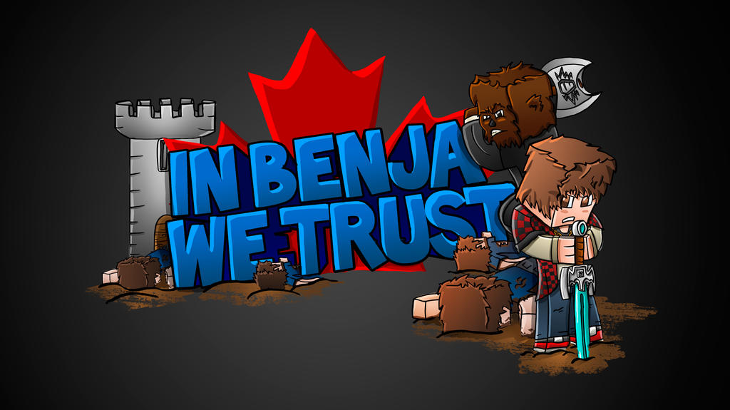 BajanCanadian: In Benja We Trust Minecraft T-Shirt by FinsGraphics