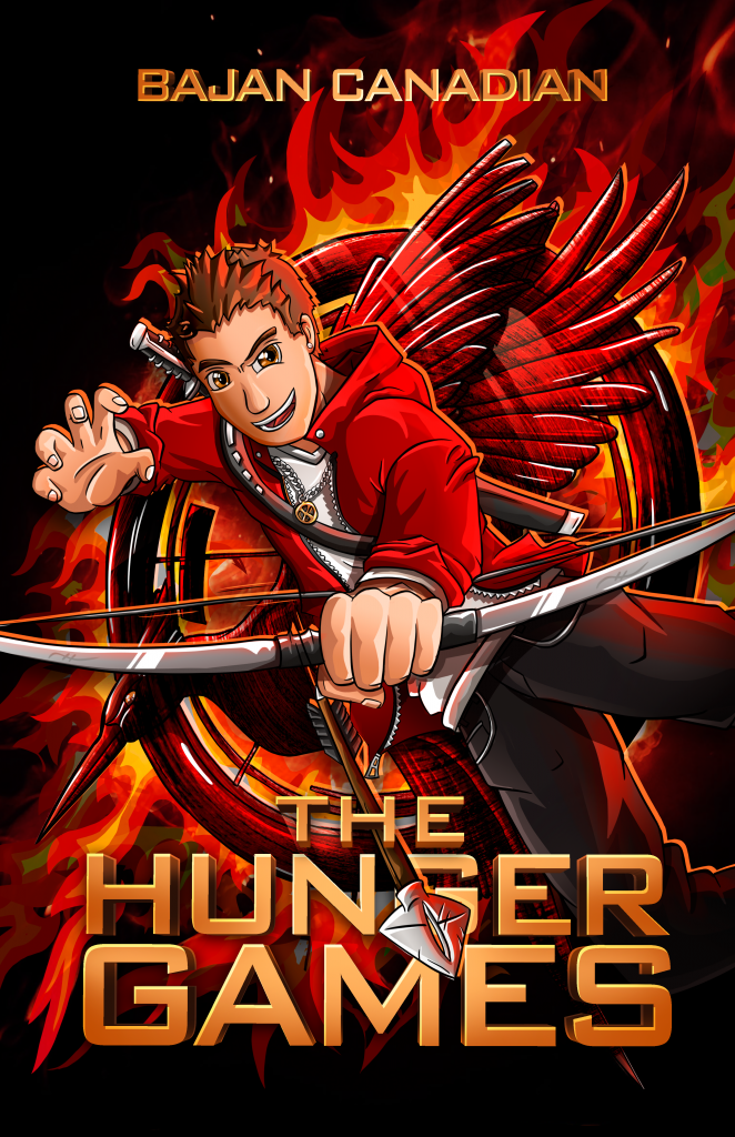 The Hunger Games: BajanCanadian Poster by FinsGraphics