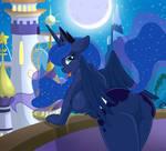Princess Luna by WhitMaverick