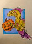 Utahraptor Zombie
