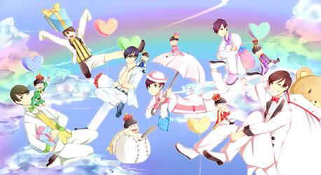 Osomatsu-san White day by Hitagii-chan