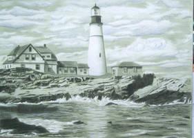 Lighthouse by skepticmeek