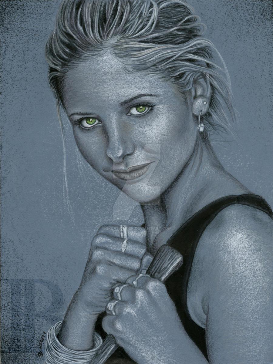 Buffy Summers by skepticmeek