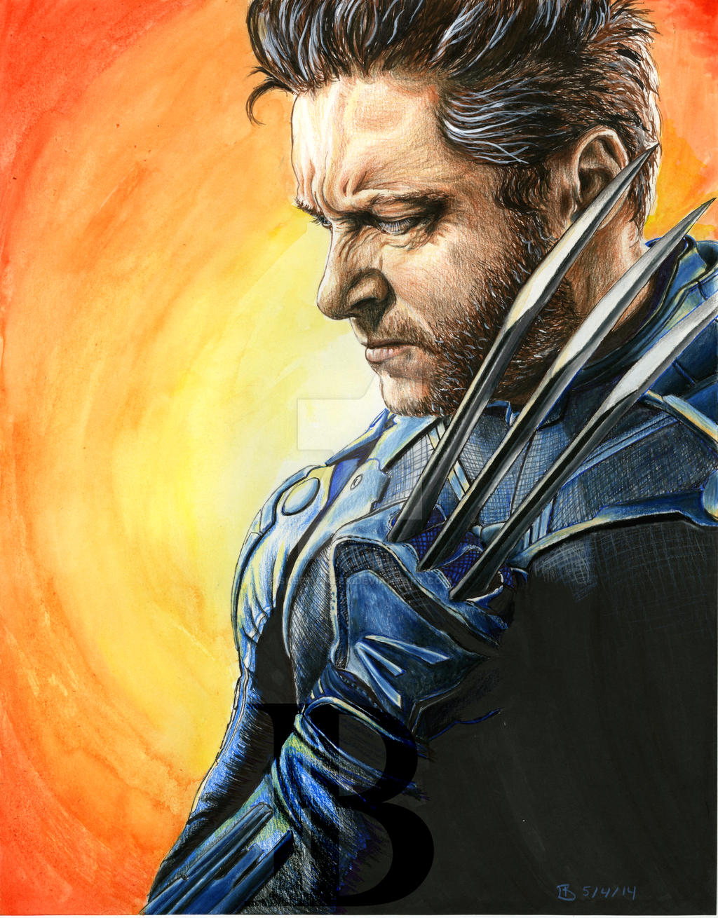 Wolverine by skepticmeek