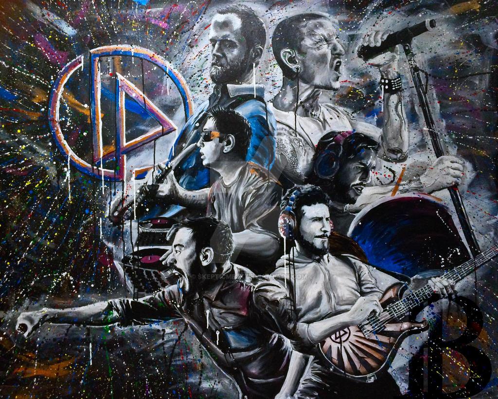 Linkin Park 2 by skepticmeek