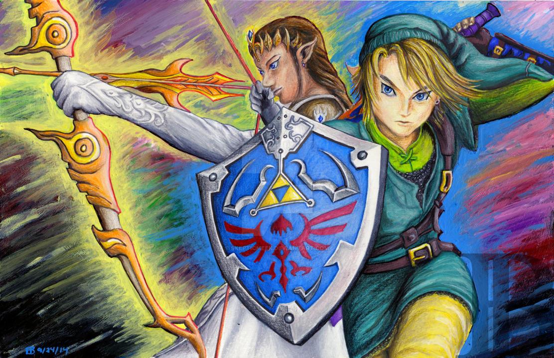 Legend of Zelda by skepticmeek