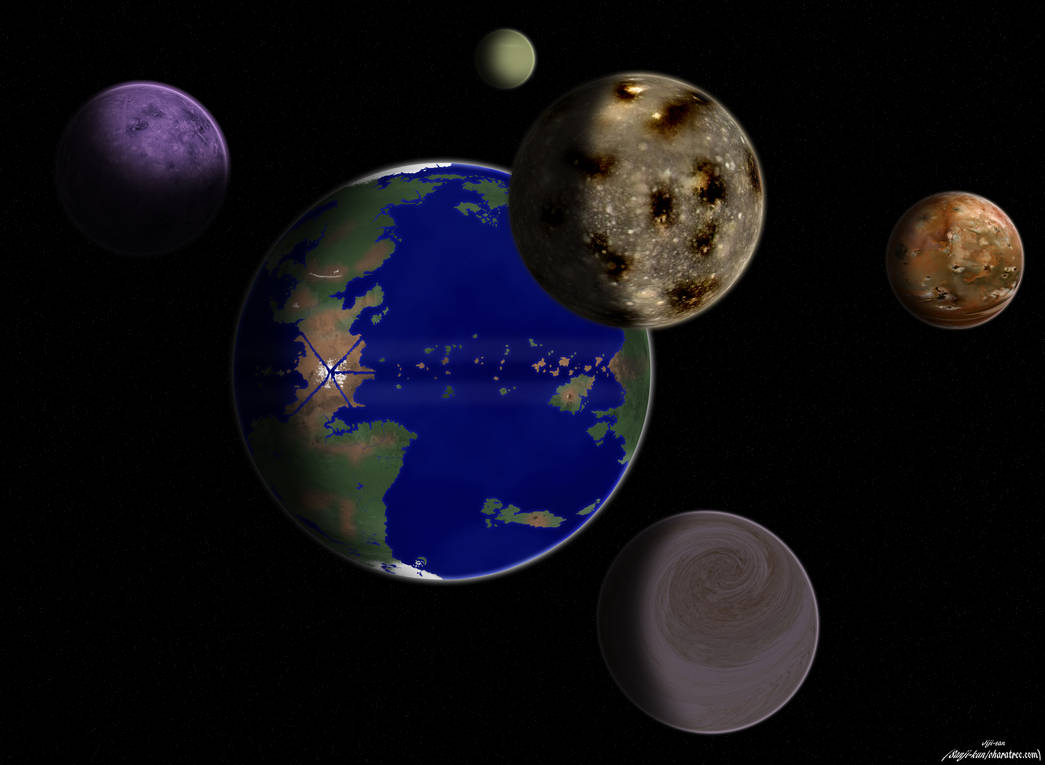 One Piece planet and moons by Jiji-san on DeviantArt ca9c6941bc